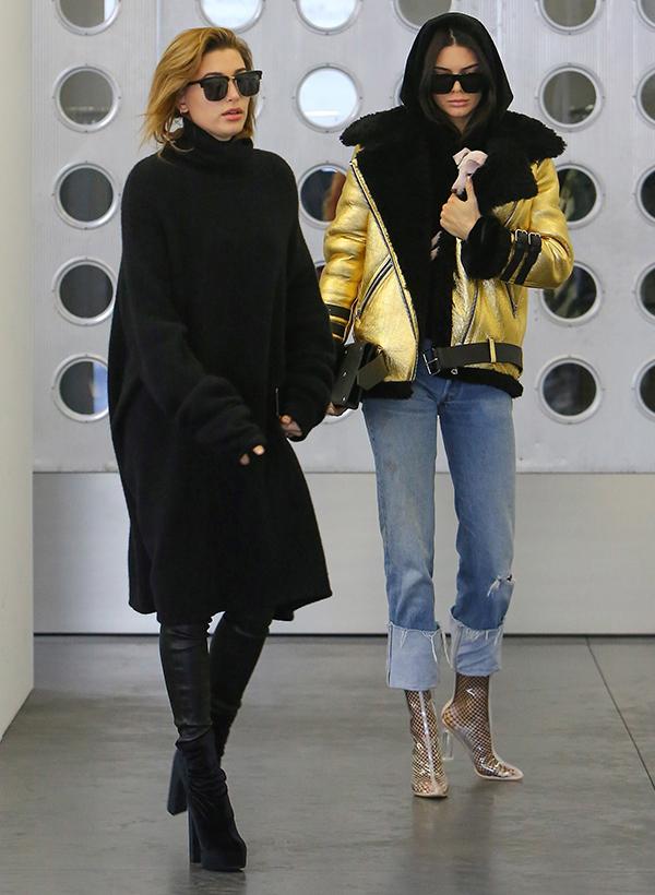 Hailey Baldwin Kendall Jenner Love Triangle
