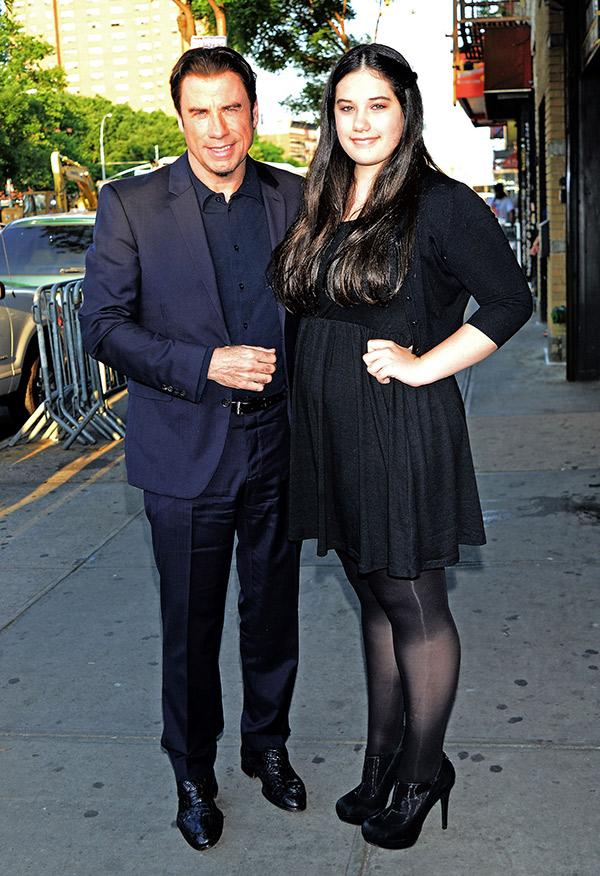 John Travolta Daughter Acting