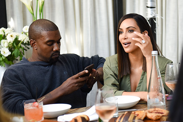 Kanye West Kim Kardashian Skype Every Day