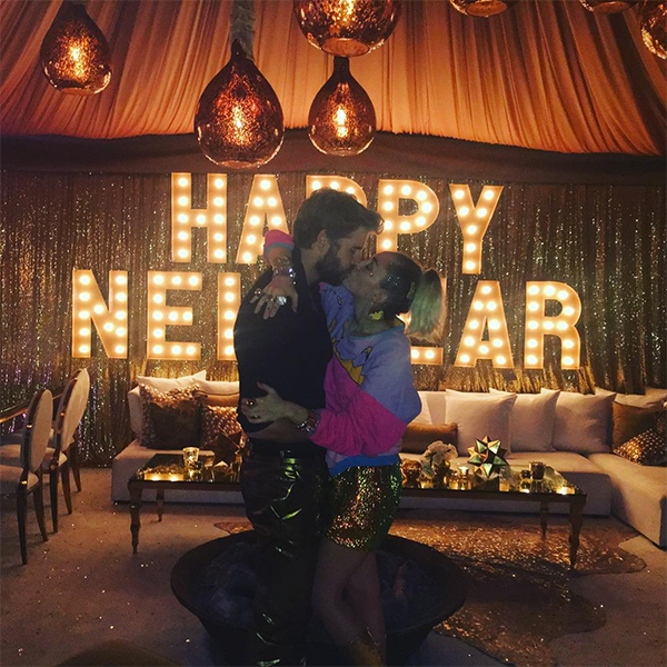 Miley Cyrus Liam Hemsworth Married NYE