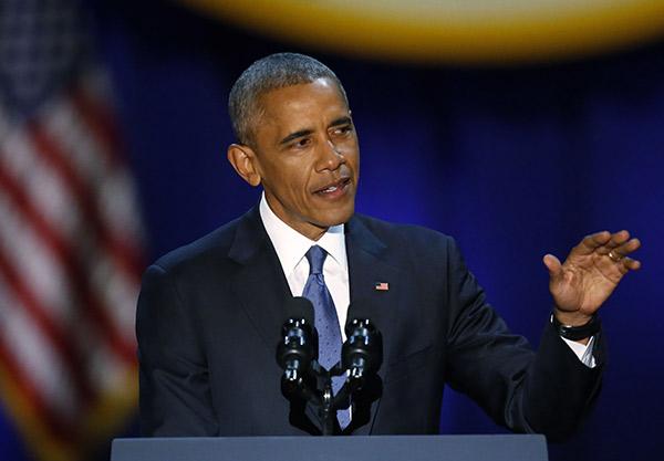 President Obama Last Speech Transcript