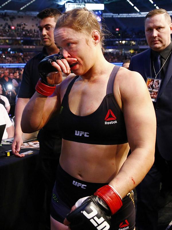 Ronda Rousey Hit Rock Bottom