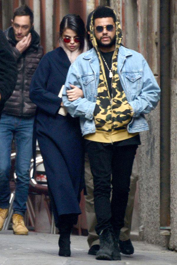 Selena Gomez The Weeknd Venice