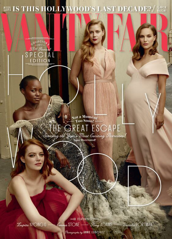Emma Stone Vanity Fair 2017 Hollywood Issue