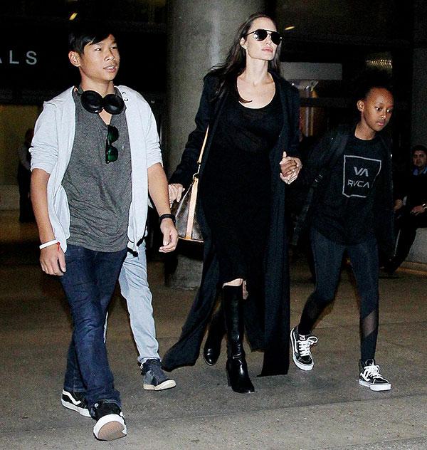 Angelina Jolie Adopting Baby