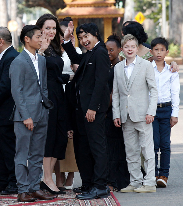 Angelina Jolie First Red Carpet Appearance