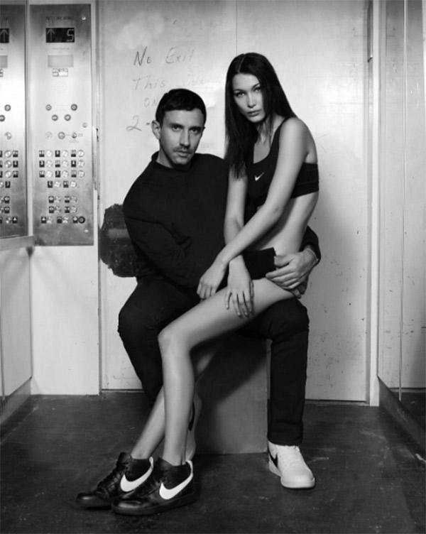bella hadid pantless nike campaign