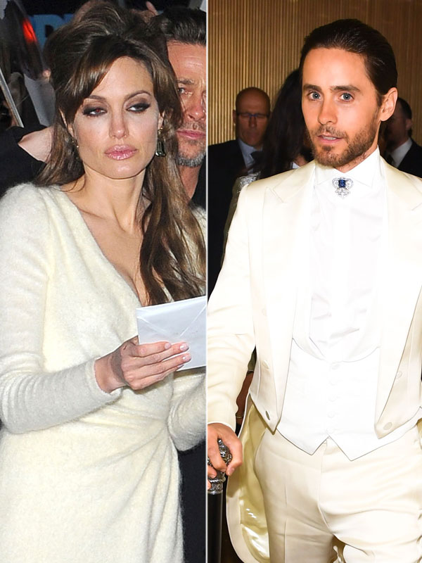Brad Pitt Upset Jared Leto Angelina Jolie