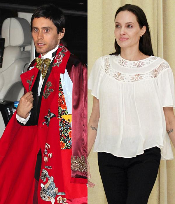 Jared Leto Angelina Jolie Dated