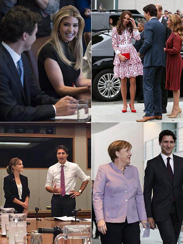 Justin Trudeau Celebrity Fans