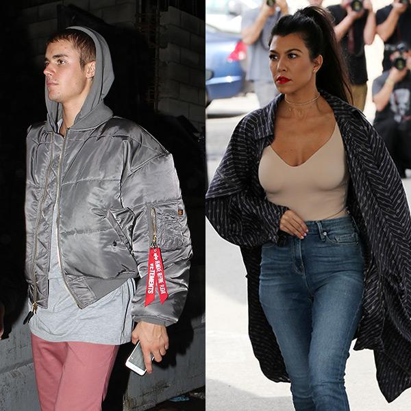 Kourtney Kardashian Justin Bieber Date