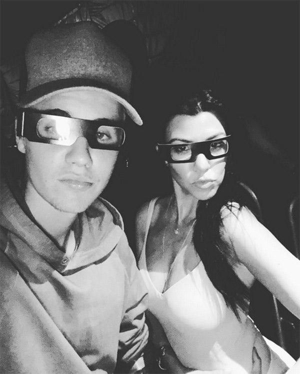 Kourtney Kardashian Justin Bieber getting serious