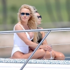*EXCLUSIVE* Pamela Anderson poses in swimsuit for a photoshoot on the Gold Coast
