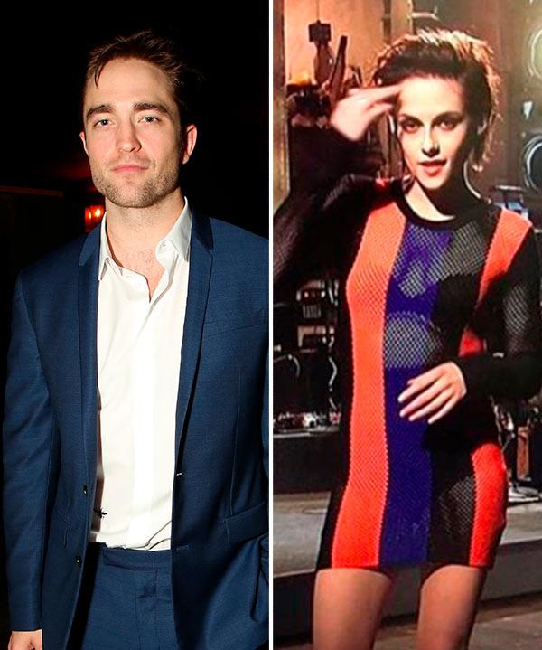 Robert Pattinson Kristen Stewart SNL