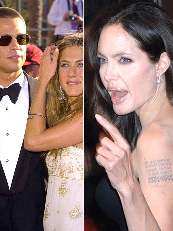 Angelina Jolie Brad Pitt Jennifer Aniston Reunion