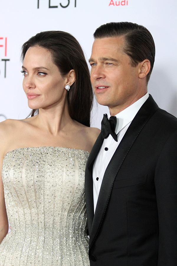 Brad Pitt Reuniting Kids