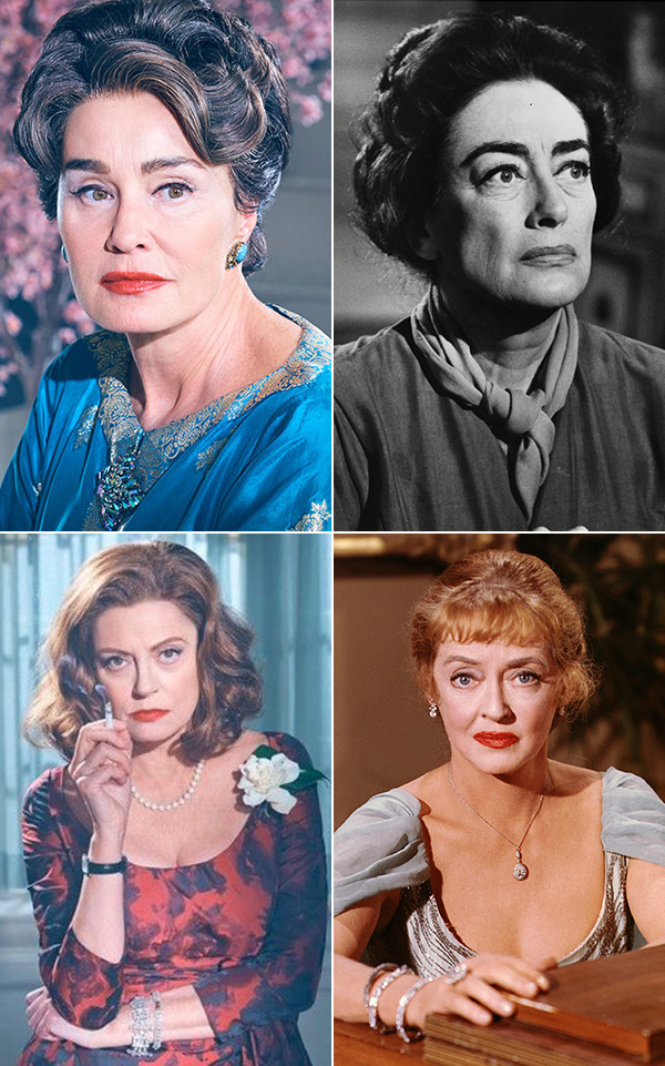 Feud Bette And Joan Cast