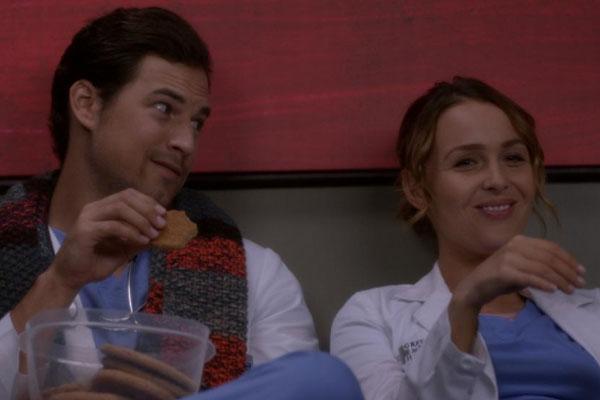 Grey's Anatomy DeLuca Loves Jo