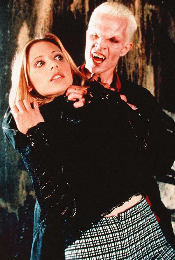 Buffy James Marsters Sarah Michelle Gellar