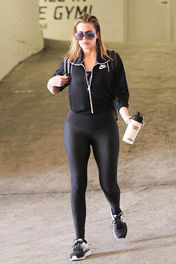 Khloe Kardashian Fitness Tips Motivated