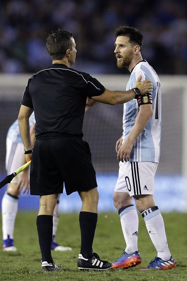 Lionel Messi Suspended