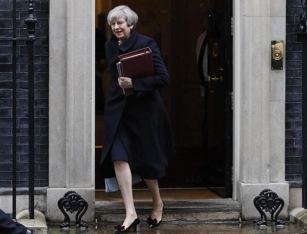 UK Parliament Attack British Prime Minister