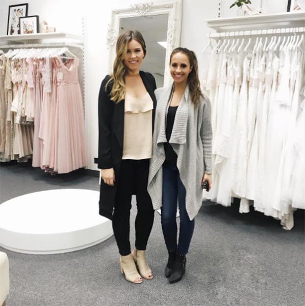 Vanessa Grimaldi Buying Wedding Dress