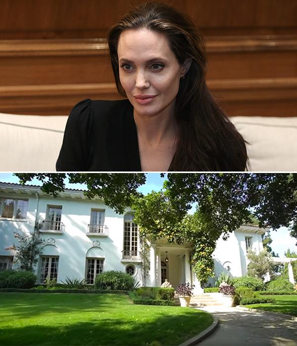Angelina JOlie New House