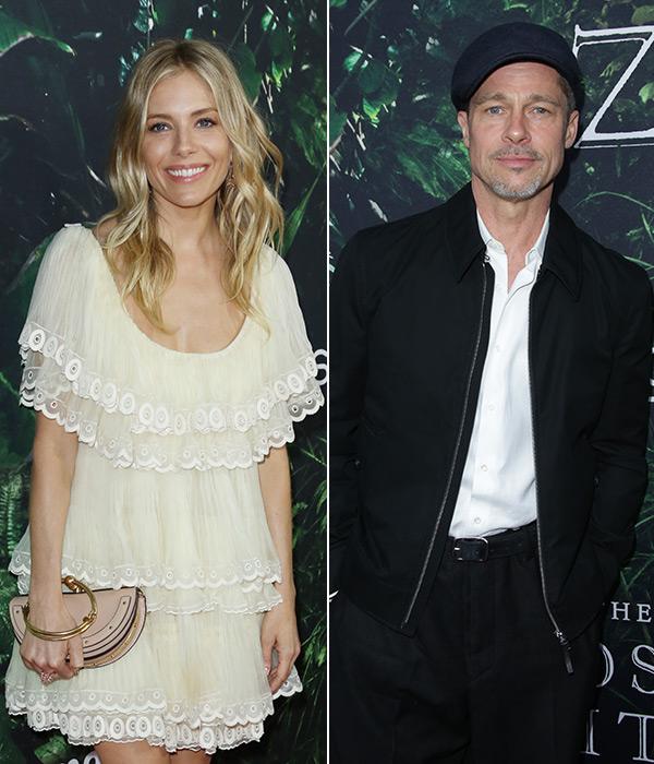 Sienna Miller Brad Pitt Dating