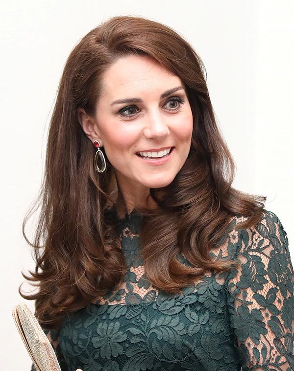 Kate Middleton Bouncy Curls