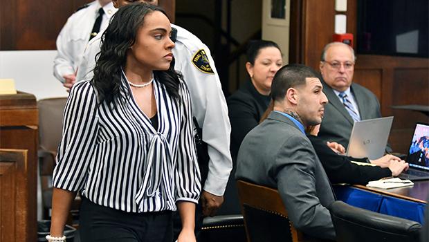 Shayanna Jenkins and Aaron Hernandez