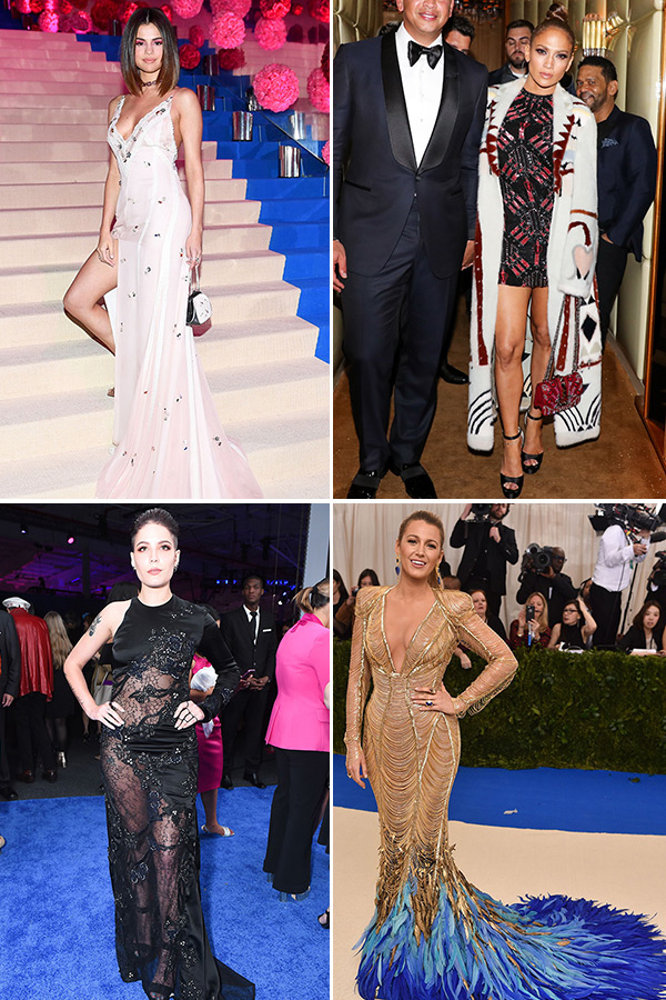 selena gomez, jennifer lopez, blake lively, halsey and more best dressed celebrities