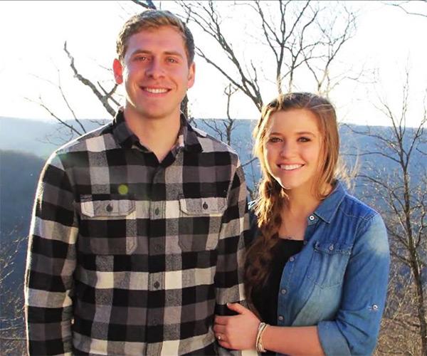 Joy-Anna Duggar and her new husband Austin Forsyth