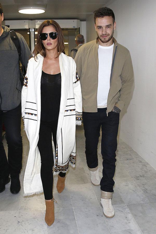 Liam Payne and Cheryl Burke