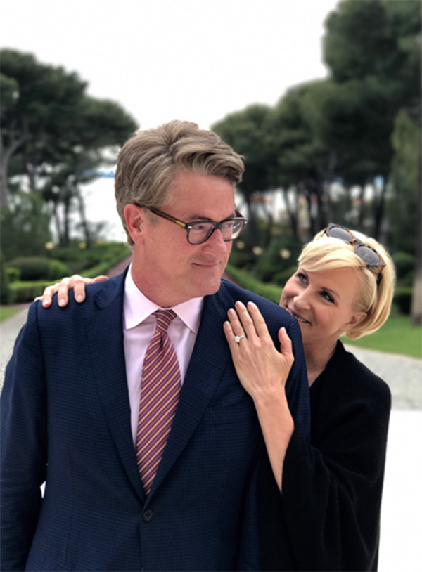 Joe Scarborough Mika Brzezinski engagement ring