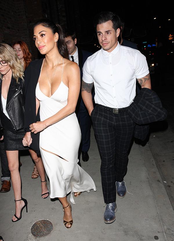 Nicole Scherzinger and Casper Smart
