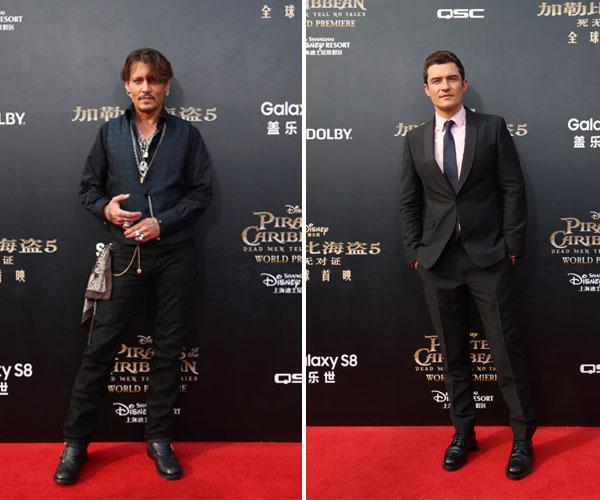 Johnny Depp & Orlando Bloom