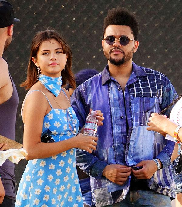 Selena Gomez & The Weeknd Coachella 2017