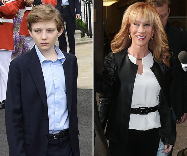 Barron Trump & Kathy Griffin