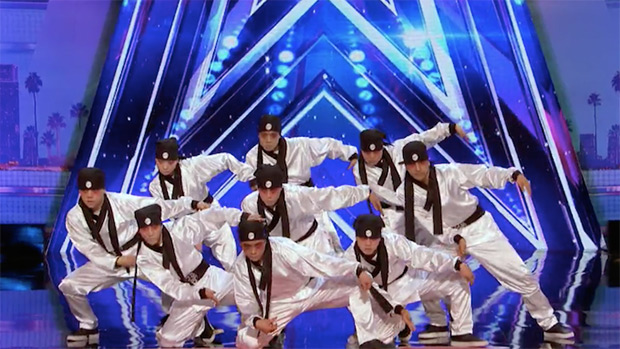 Just Jerk Performance On America S Got Talent Watch Exclusive Video Hollywood Life