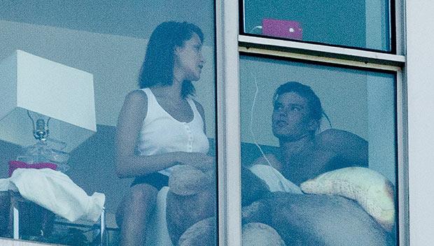 Bella Hadid Jordan Barrett Flirt NYC Apartment Pics