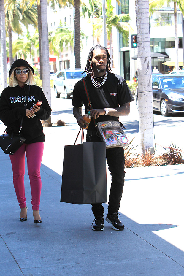 Offset Cardi B Shopping Spree