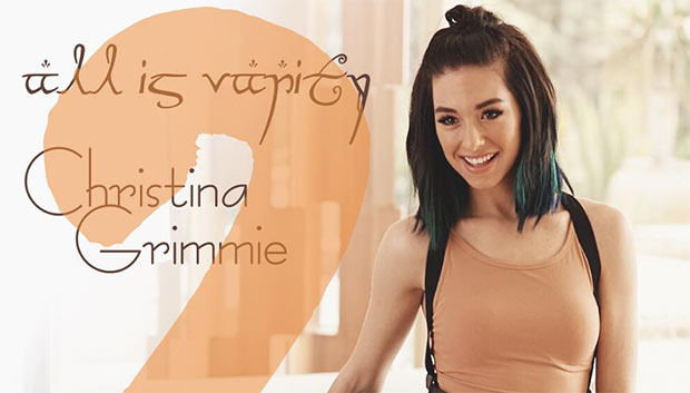 Christina Grimmie All Is Vanity