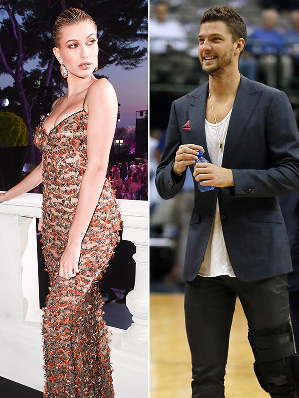 Hailey Baldwin and Chandler Parsons