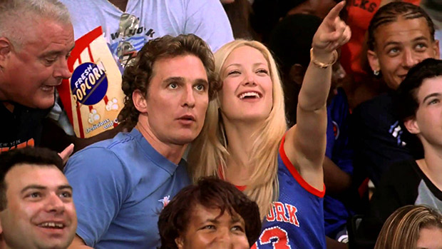kate hudson knicks jersey how to lose a guy in 10 days basketball game scene