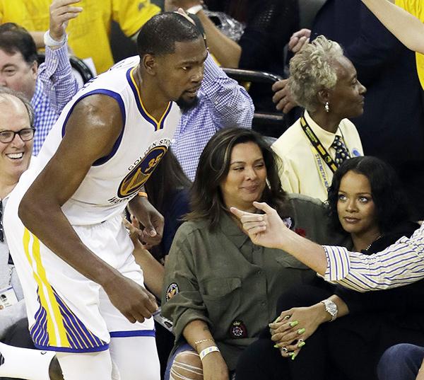 Kevin Durant And Rihanna