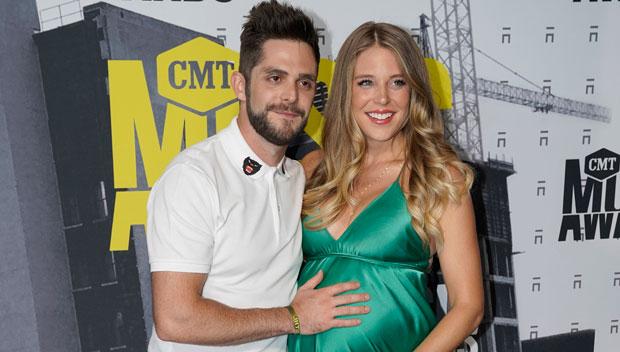 Thomas Rhett Lauren Akins CMT Awards