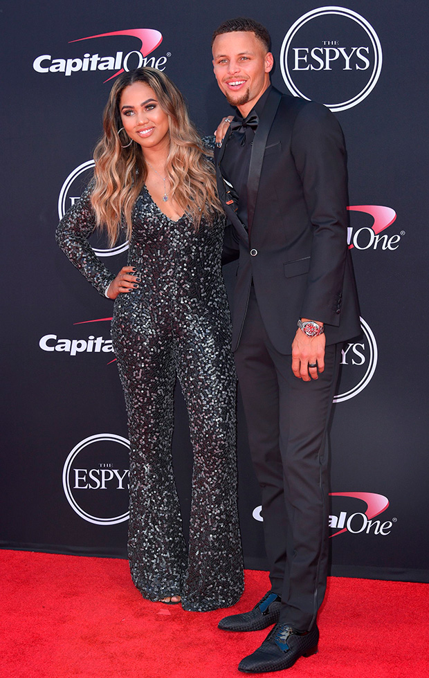 Ayesha And Steph Curry ESPYs