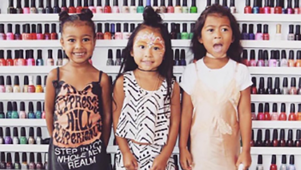 North West and her friends