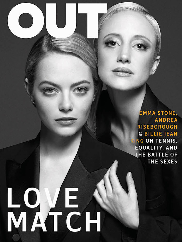 Emma Stone OUT Cover
